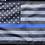 Thumbnail: ★USA Subdued Thin Blue Line Flag★