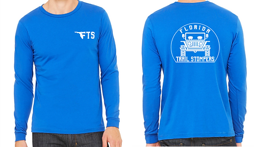 FTS - White Print Long Sleeve