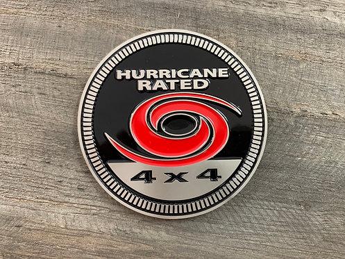Badge - Hurricane Rated