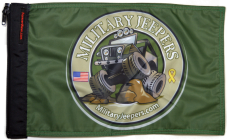 ★Military Jeepers Flag★