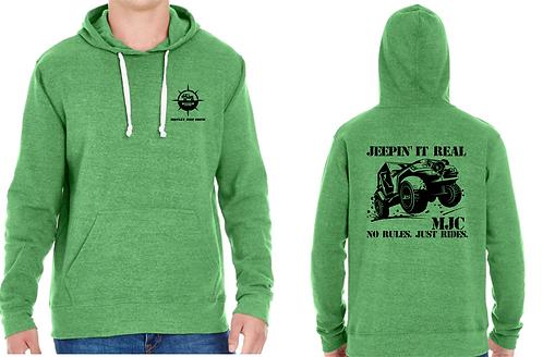 Motley Crew - Black Print Hoodie