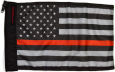 ★USA Subdued Thin Red Line Flag★