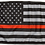 Thumbnail: ★USA Subdued Thin Red Line Flag★