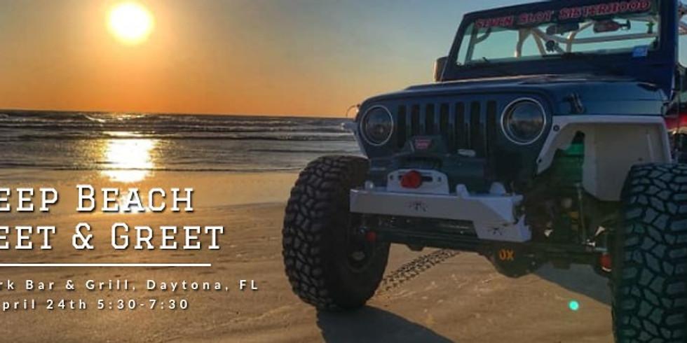 Seven Slot Sisterhood Jeep Beach Meet & Greet!