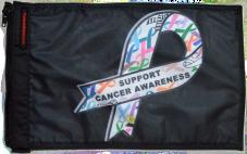 ★Support Cancer Awareness Flag★