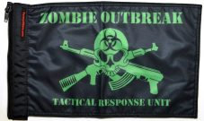 ★Zombie Outbreak Tactical Response Unit Flag★
