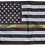 Thumbnail: ★USA Subdued Thin Camo Line Flag★