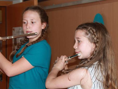 Musikschüler luden zu Vortragsnachmittag