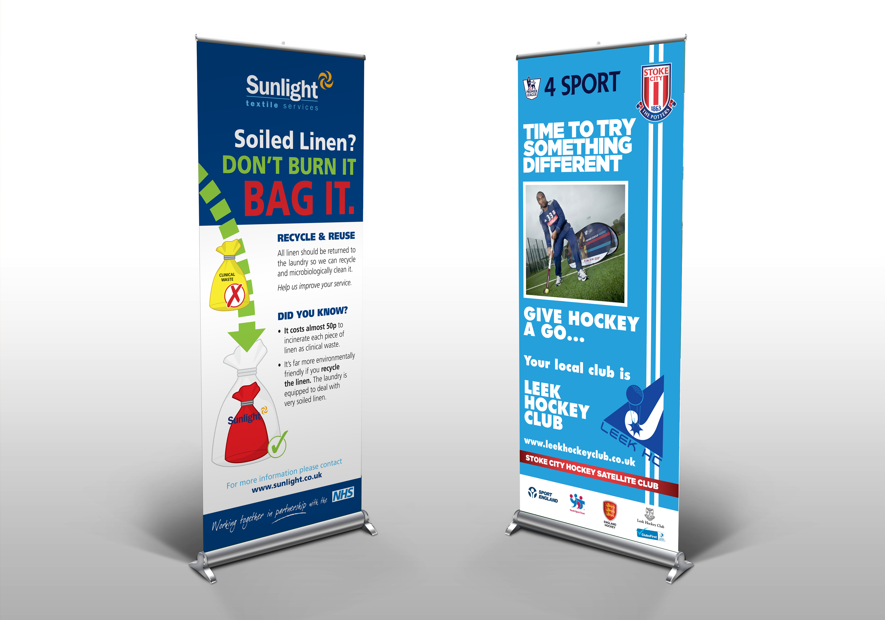 Pull-up Banner Design & Production