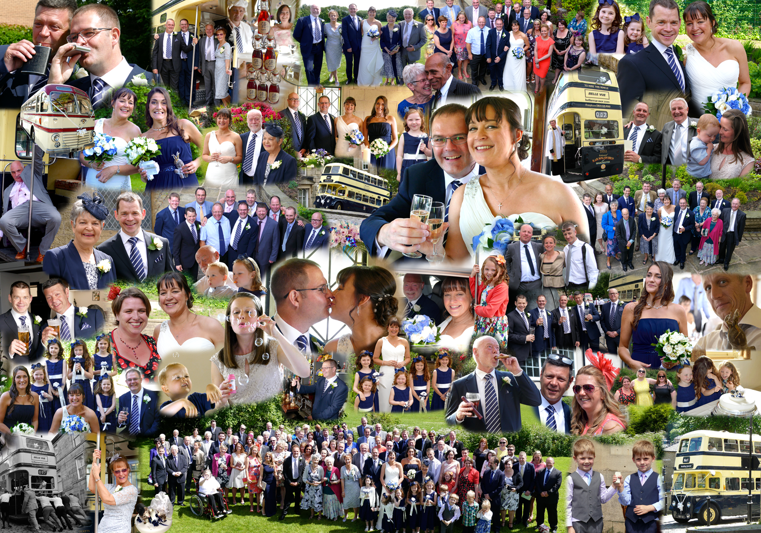 Wedding Photoshop Montage