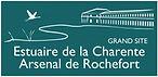 logo grand site estuaire de la charente arsenal de rochefort