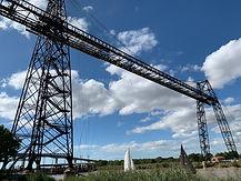 pont transbordeur et voiliers