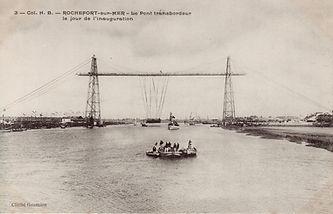 pont transbordeur inauguration