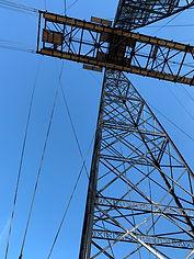pylône du pont transbordeur
