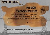 invitation mission transbordeur