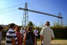 visite guidée pour les individuels sur le site du pont transbordeur