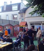 art thérapie seniors montreuil Bagnolet Paris