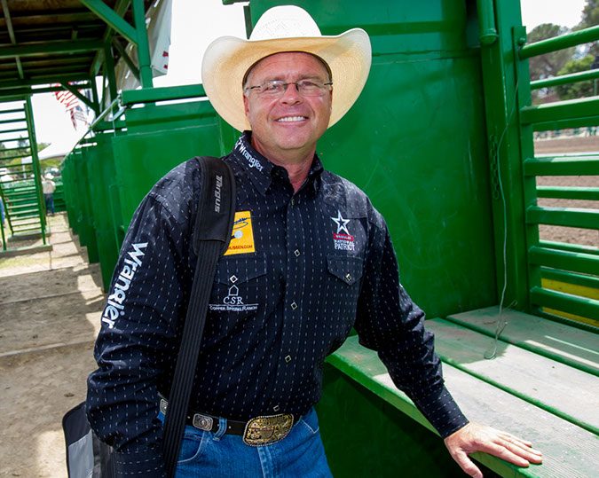 Will Rasmussen - Pro Rodeo Announcer