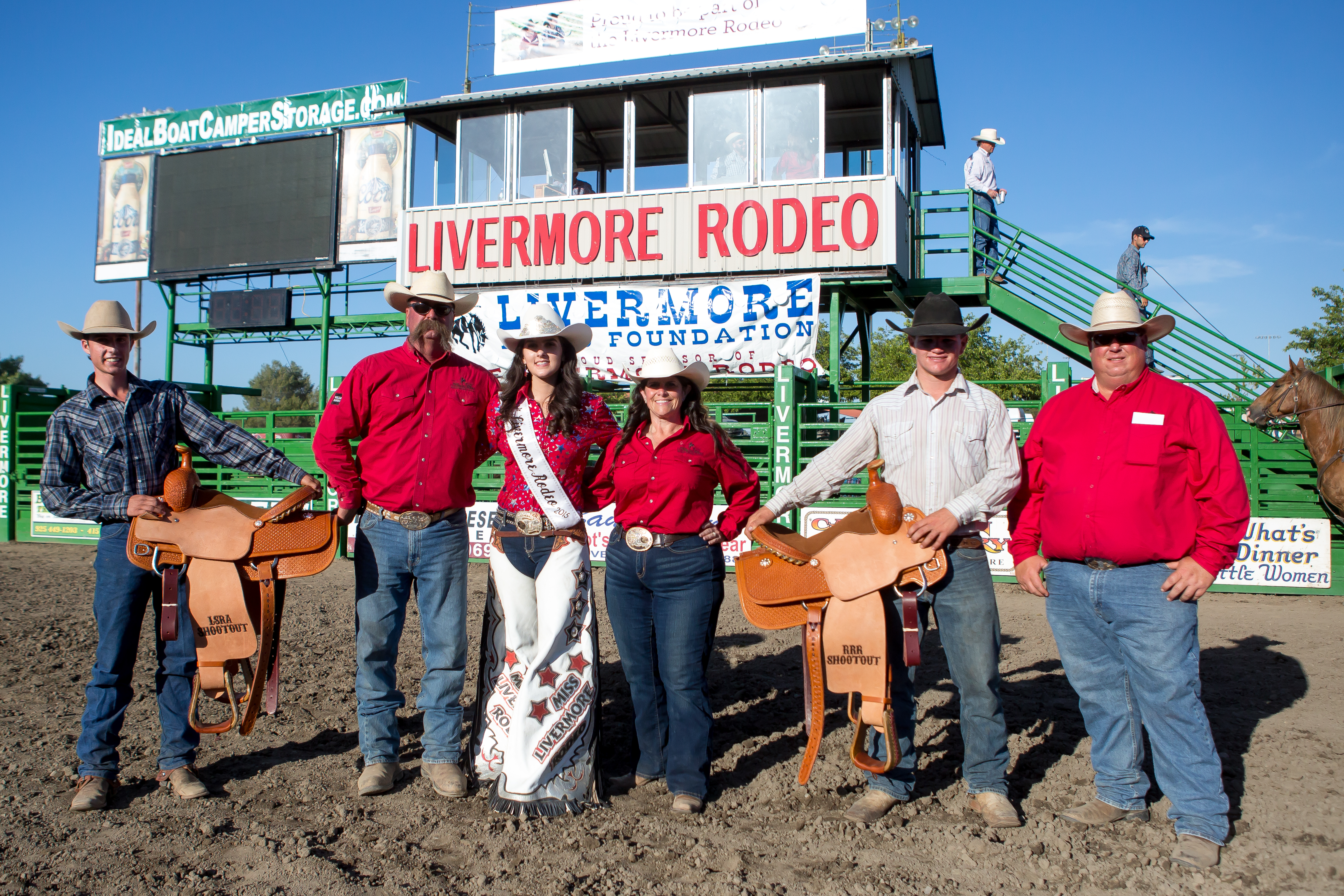 Team Roping Shoot-Out Winners