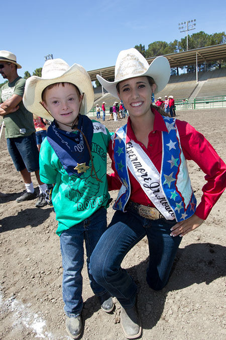 Lil' Pardner & Michelle Hewitt