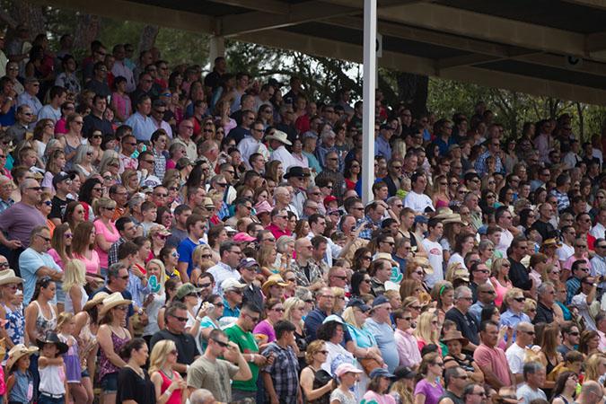 Record Crowds!