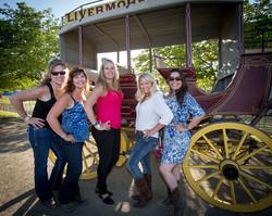 Joyce, Christie, Amy, DeeAnna, Nicol