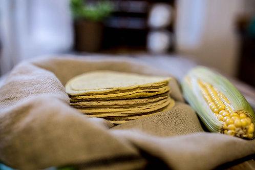 Tortillas 100% maïs fait maison