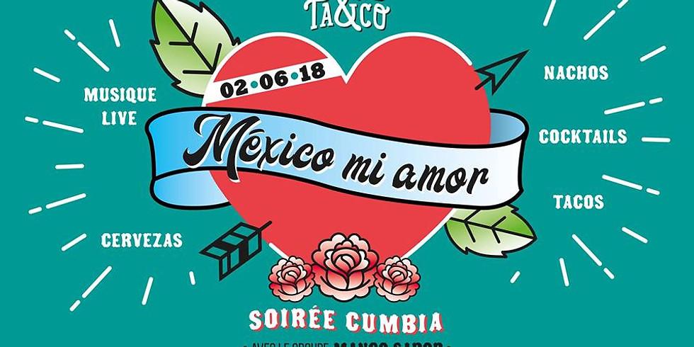México Mi Amor - Cumbia MANGO SABOR [LIVE]