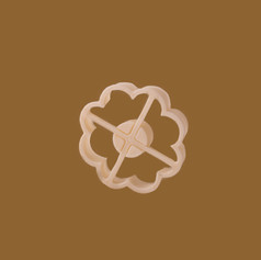 Keksform für Marmeladenplätzchen