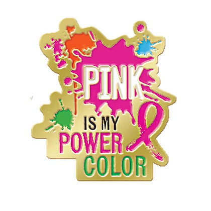 Pink Is My Power Color - Pin