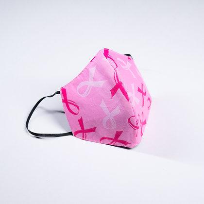 Pink Ribbons Face Mask