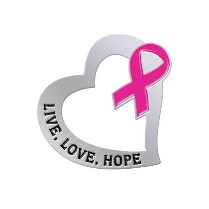Live Love Hope - Pin