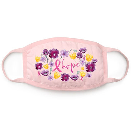 Hope Floral 4-Ply Cotton Face Mask