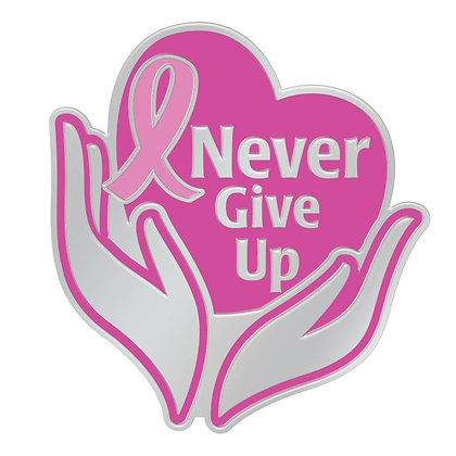 Never Give Up - Pin
