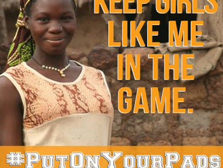 #PutOnYourPads Campaign Launches Today!
