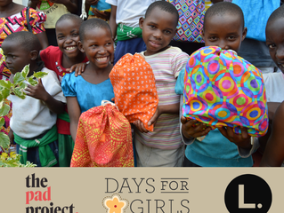 Days for Girls International Partners With The Pad Project and This is L.