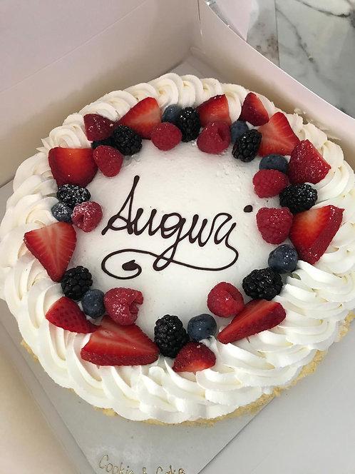 Torta Chantilly con Frutta