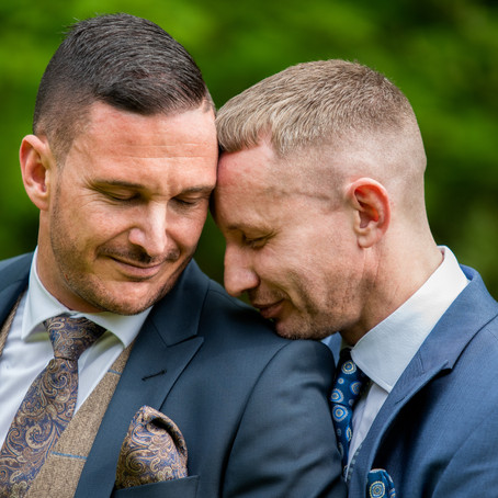 Marc & Curtis - Cheshire styled shoot