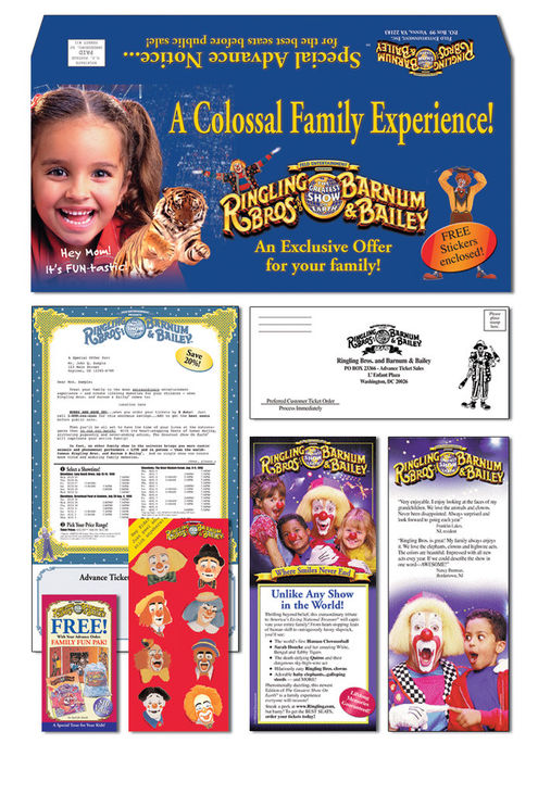 Ringling Bros Ticket Package