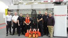 HONEYWELL DONATES RESCUE EQUIPMENT