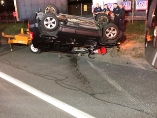 Roll-Over MVC | State Fair Blvd. | Geddes