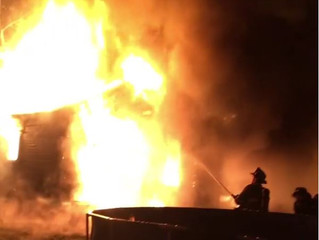 Working Fire | Freeman Ave. | Solvay