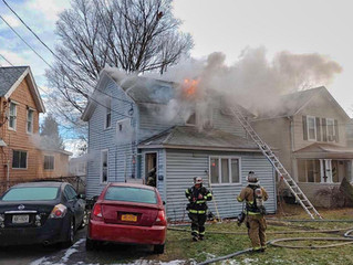 First Due Working Fire | Woods Rd. | Solvay