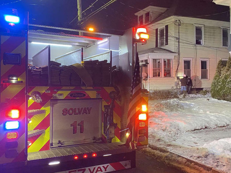 First Due Fire | Charles Ave. | Solvay