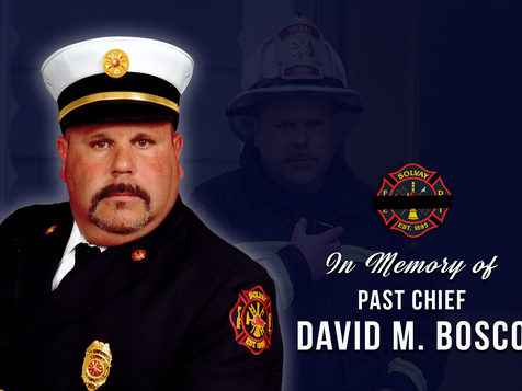 Passing of Past Fire Chief David M. Bosco