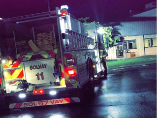 Industrial Fire | Milton Ave. | Solvay