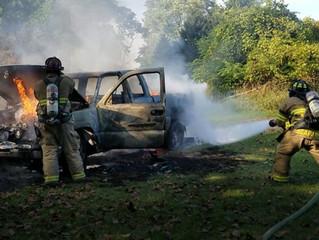 Vehicle Fire | Steven Ter. | Westvale