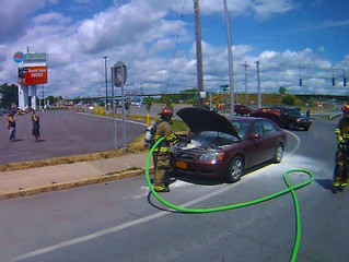 Back to Back Vehicle Fires on State Fair Blvd.