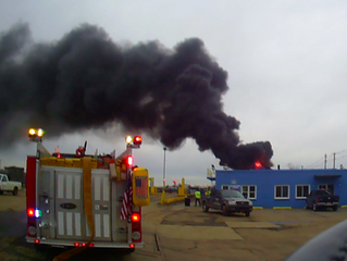 Industrial Fire | Bridge St. | Solvay