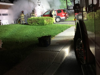 Vehicle Fire | Third St. | Solvay